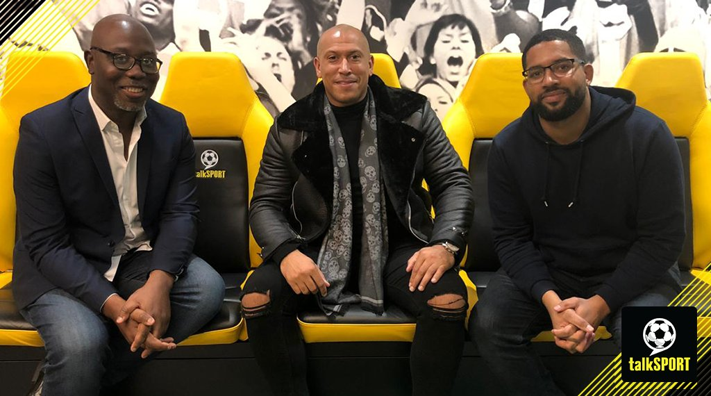 NOW: Kick-Off @HughWoozencroft with @MirrorDarren & @Chris_Iwelumo 👊 Coming up 👇 🔘 #UCL review 🔘 Finances in the #EFL 🔘 Pellegrini under pressure 📻 Tune in → tlks.pt/ListenLive