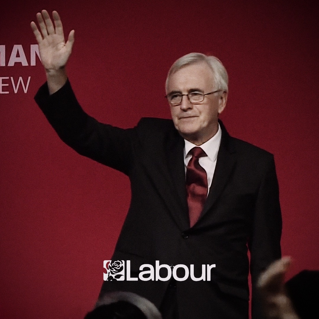 It is time to lay the foundations of a new world. #VoteLabourToday