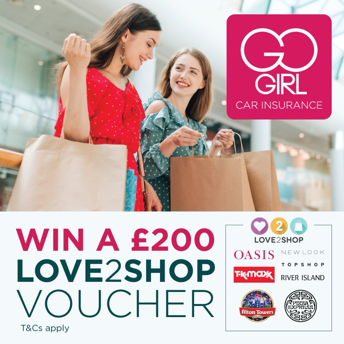 COMPETITION TIME !!!!!!!! Enter our competition for your chance to win a fantastic £200 Love2Shop voucher gogirl.co.uk/news-and-advic… Terms & conditions apply. #competitions #competition #thursdaythoughts #win @Love2shop_UK #love2shop @gogirlinsurance #gogirls