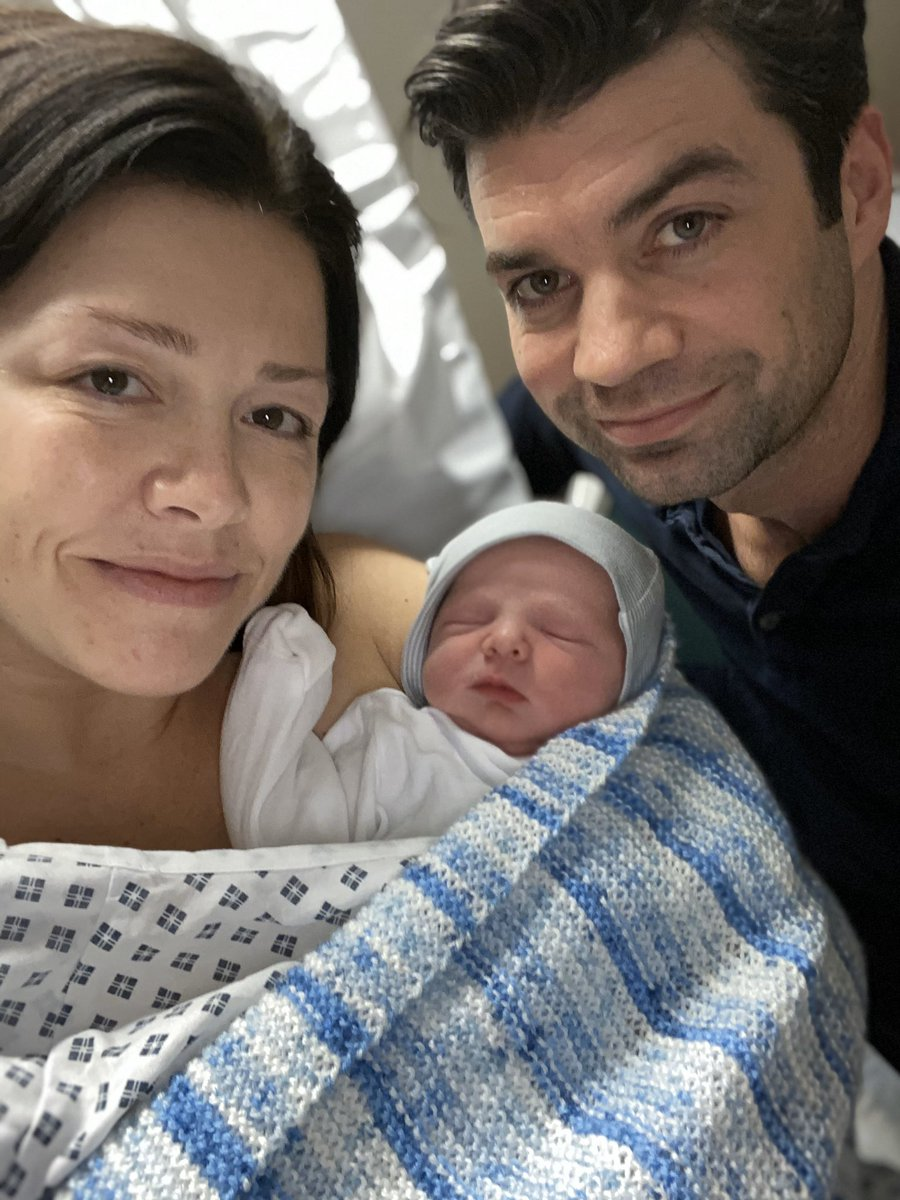 """Figured it was a pretty quiet news day so what better time to break some news:   Introducing Matheson """"Sonny"""" Vaughan Jones.   He's perfect in every way and the most beautiful human in the history of humankind.  We Are A Family. @LVaughanJones @HVaughanJones #TeamVaughanJones"""