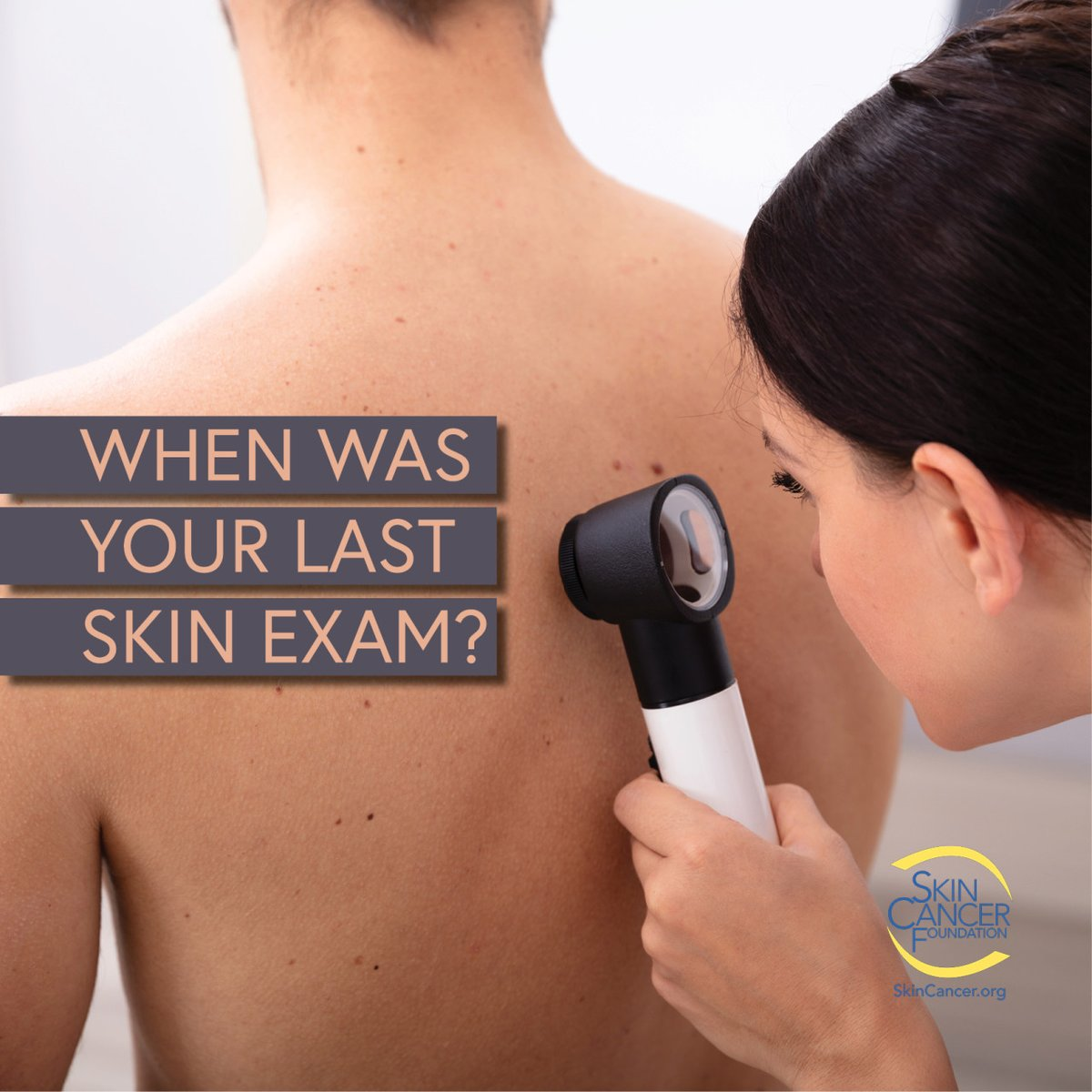 Remember that early detection of #skincancer is the key to the most minimal and cost-effective treatment with the highest chance of a cure. Make your appointment soon! #GoGetChecked