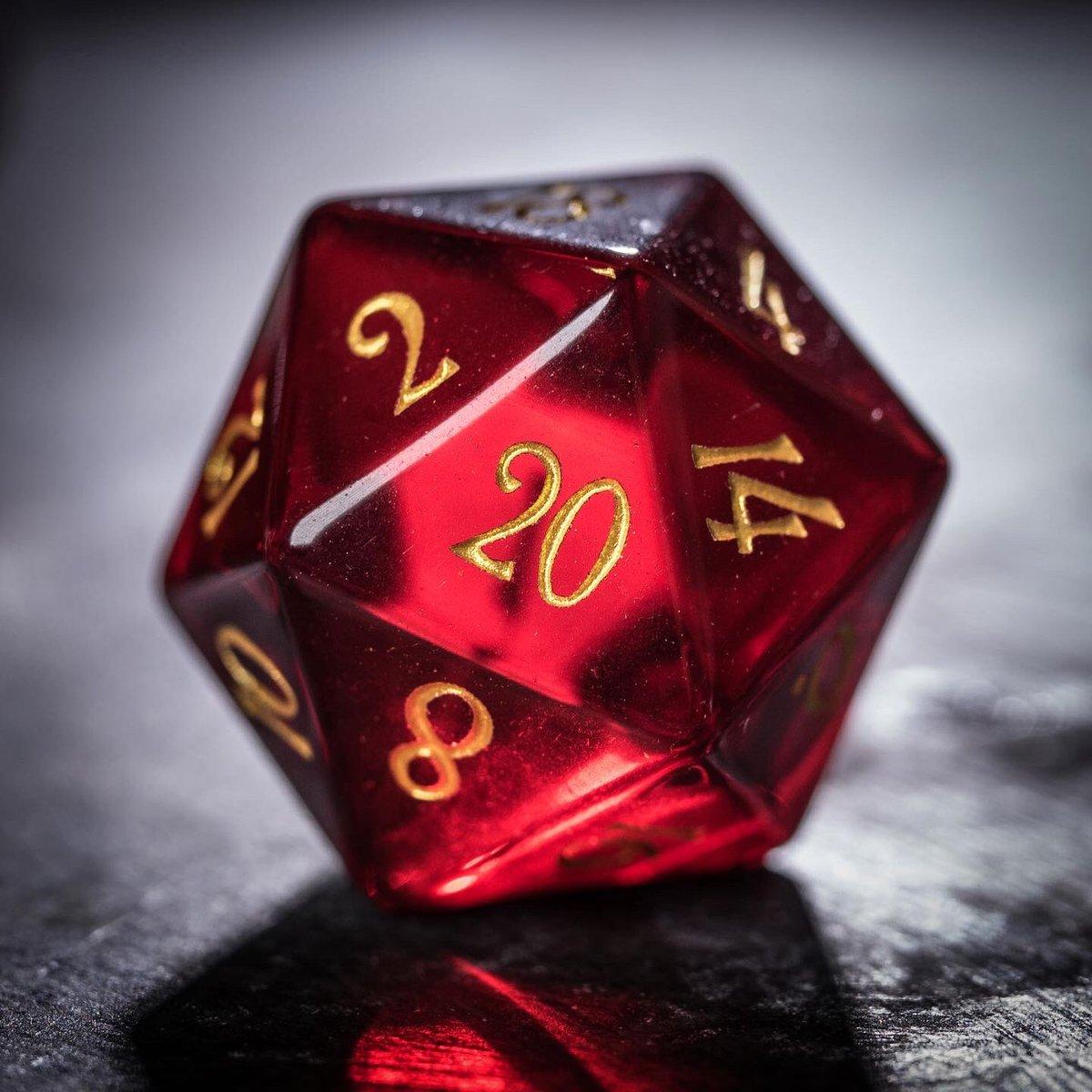 Garnet red♥️♥️ #dice #dnd #ttrpg #dungeonsanddragons