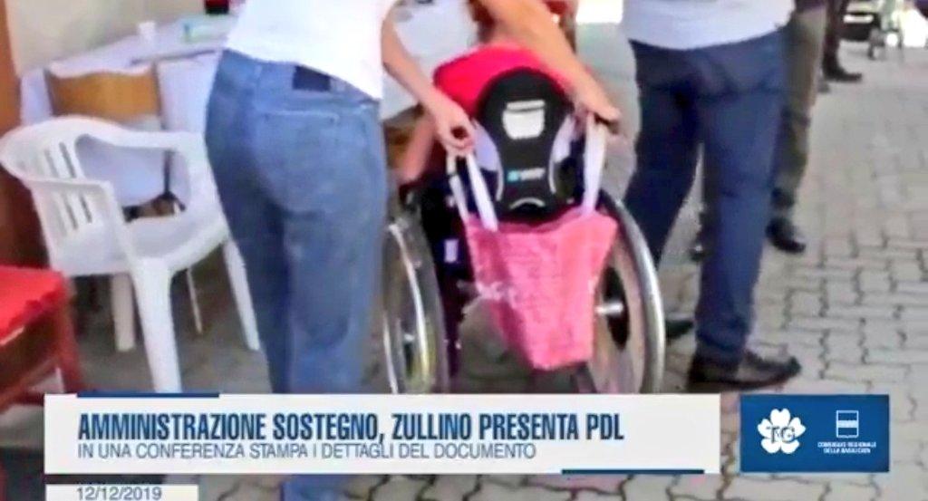Amministrazione sostegno, Massimo Zullino presenta...