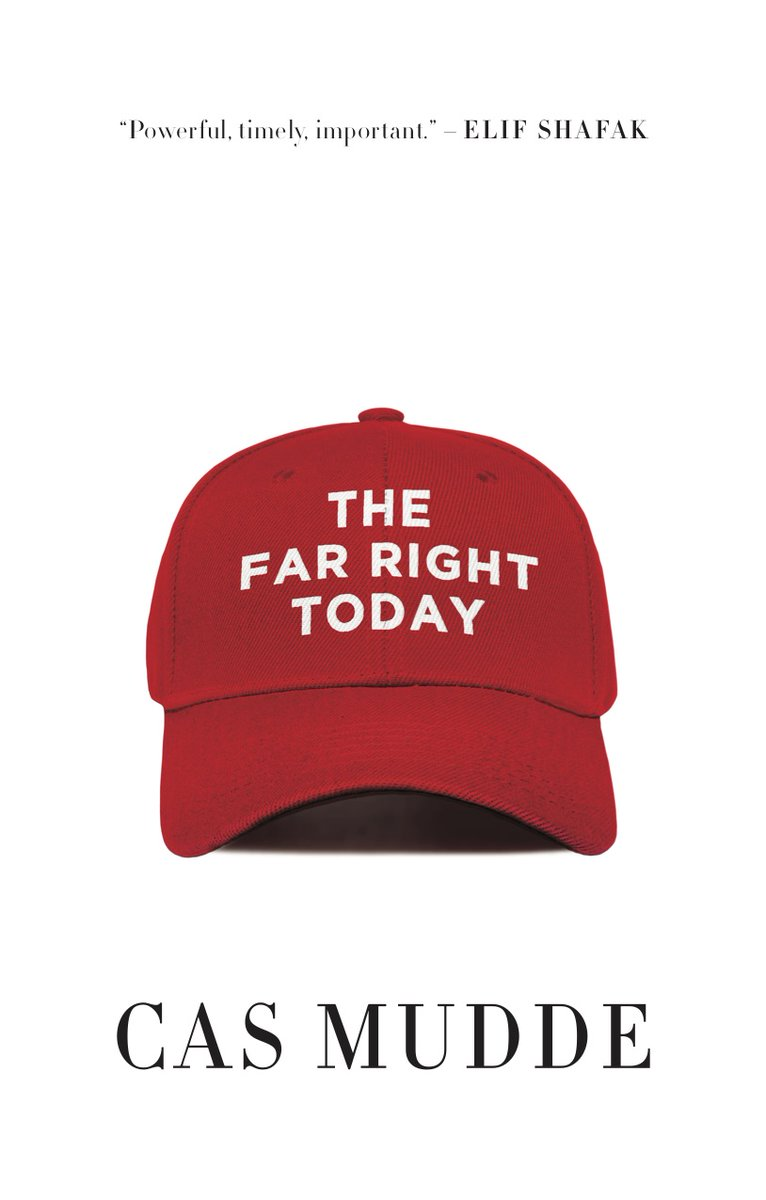 Flattered to have received two offers for German rights of my new book The Far Right Today (and an almost offer from a third major publisher). Will announce soon who will publish Die Äußerst Rechte Heute next year. 😃