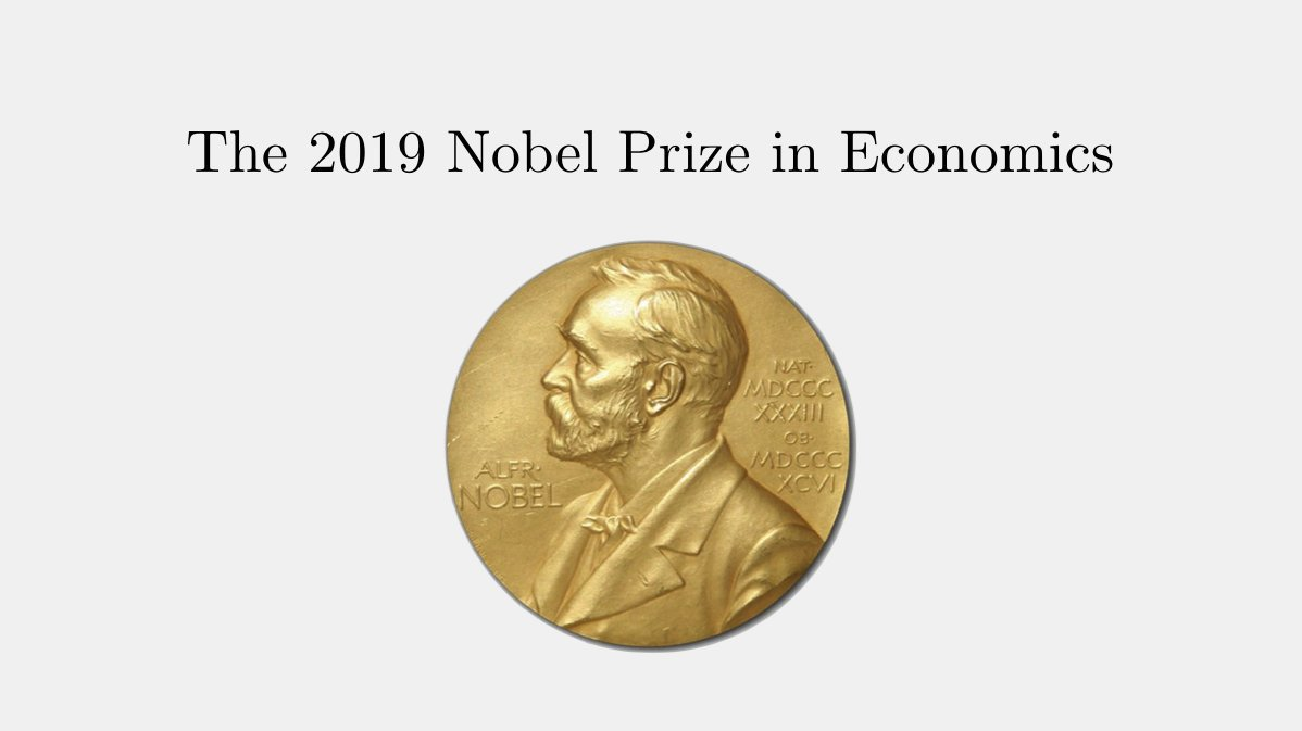 The 2019 Nobel Prize in Economics was awarded to Banerjee, Duflo, and Kremer for their experimental approach to alleviating global poverty. A great paper for your holidays reading list 📚🎁 Get it here: fermatslibrary.com/s/improving-im…