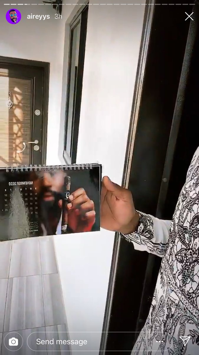 Pls we'r selling premium calendar! Calendar calendar! 2020 calendar. Year of breakthrough calendar! Come and buy calendar wit quotes for the year and stay refreshed, positive and fulfilled all year round. Only 6 left. Pls visit  now to buy #bbnaija #aireyys