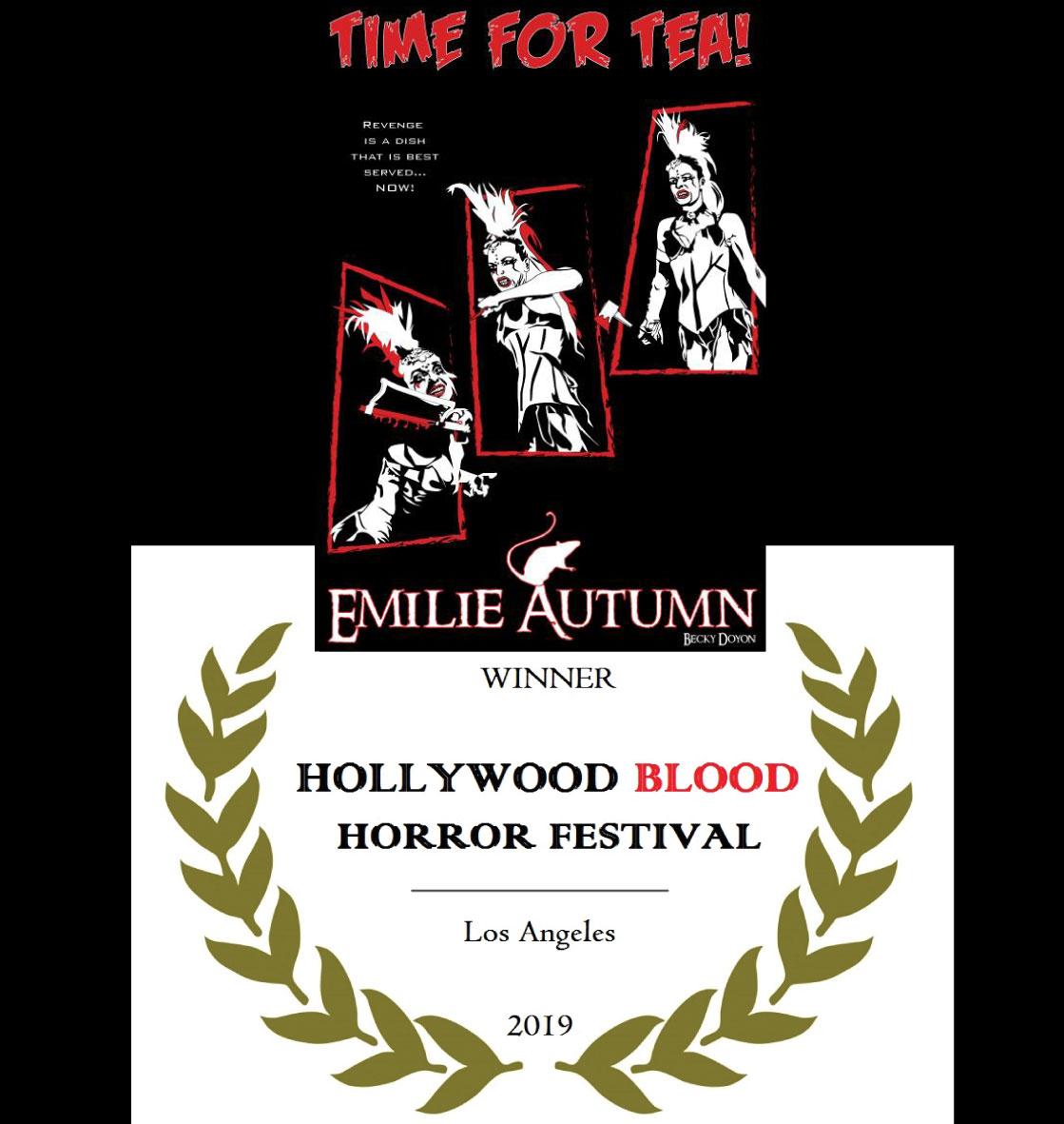 """Time For Tea"" won Best Poster for November at the Hollywood Blood Horror Festival!   https://beckydoyon.com/blogs/news/time-for-tea-won-at-the-hollywood-blood-horror-festival…  #horrorartist #horrorcommunity #horrorfamily #horrorfam #maineartistpic.twitter.com/GgXtv3YQxY"