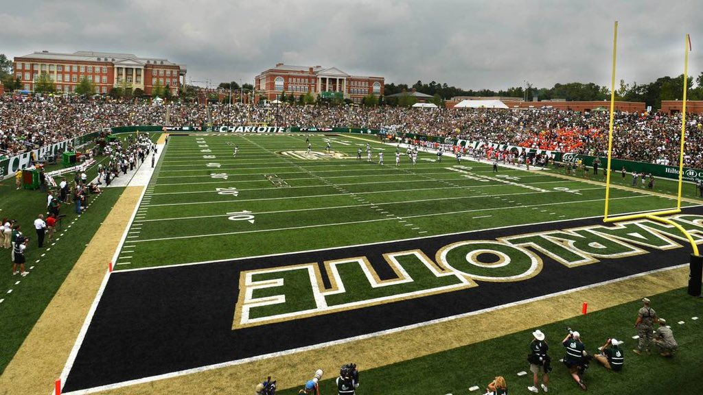 Blessed to receive an offer from UNC Charlotte #ninernation 🔨
