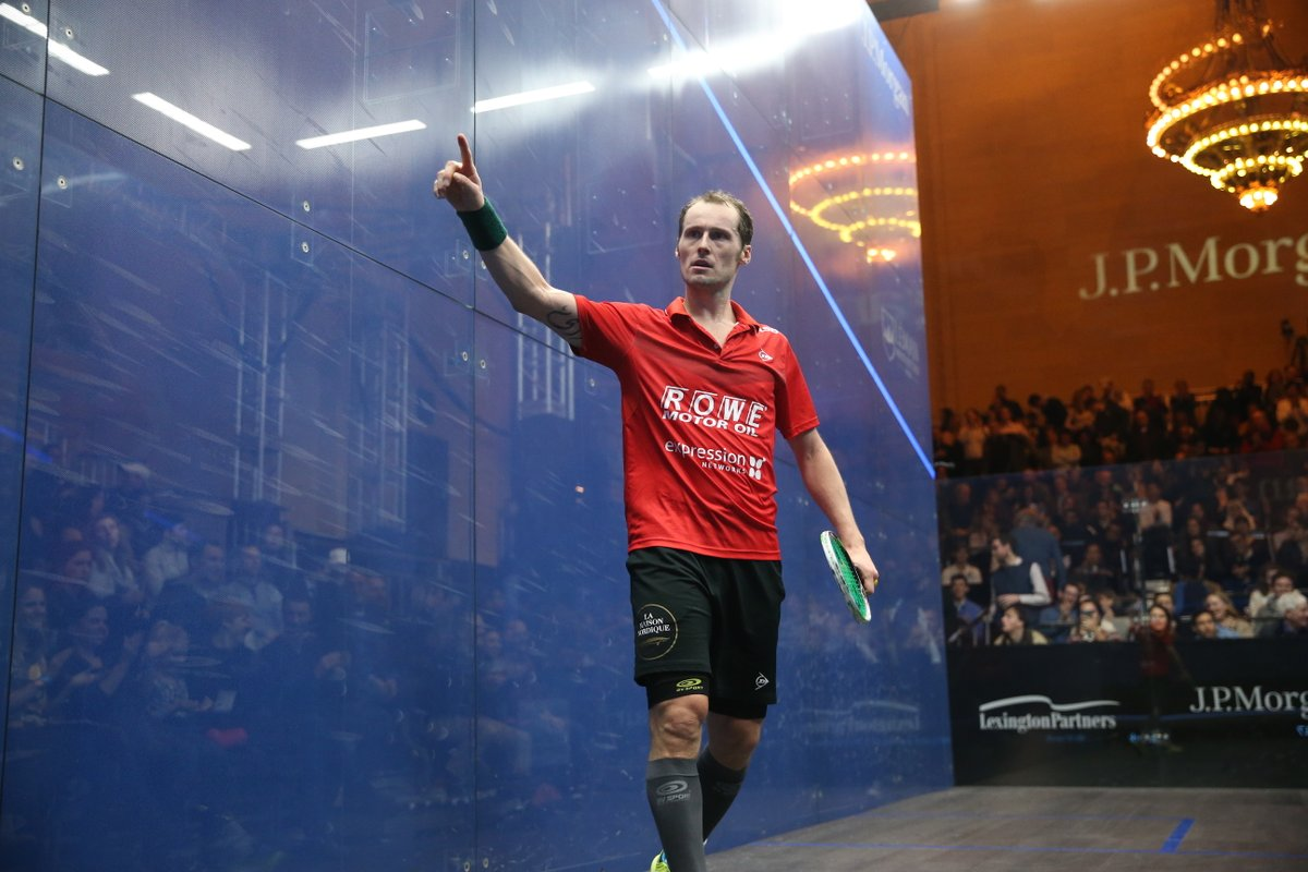 test Twitter Media - Gregory Gaultier will make his first PSA appearance in 15 months in January's @ToCSquash...  And his first match back will be a repeat of the 2015 @PSAWorldChamps final against @mosaadsquash! 👀  Read more ⬇️  https://t.co/9Po72spD0O   #squash https://t.co/no9L9wDEN3