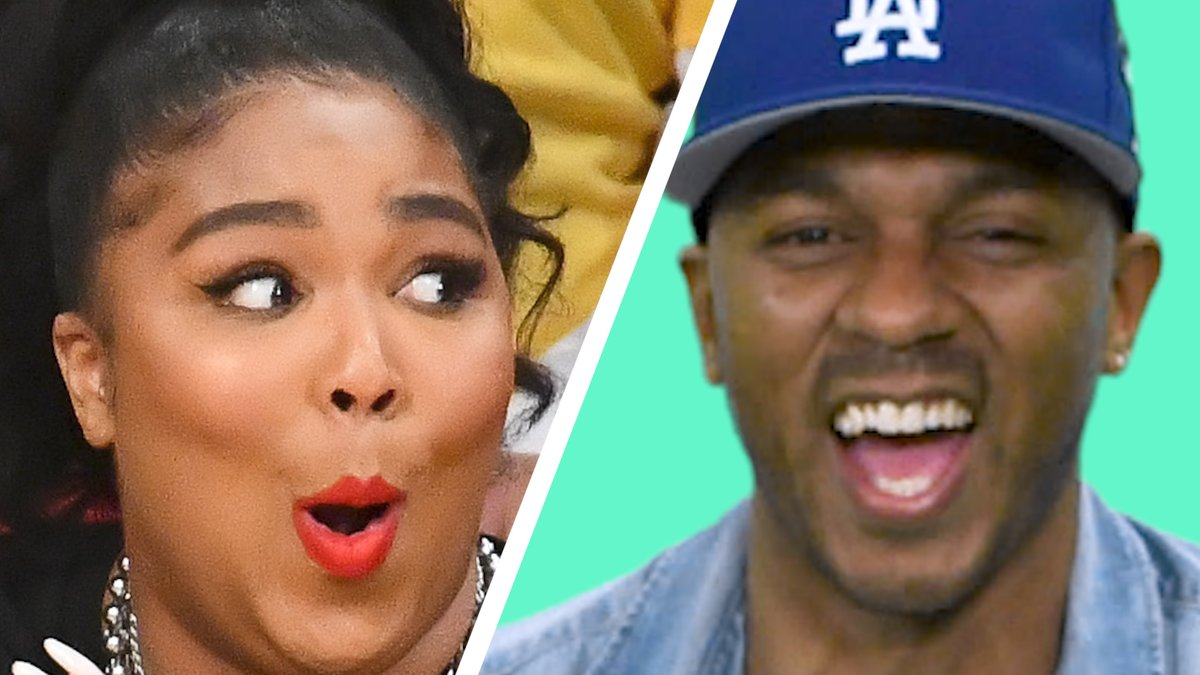 """The moment you've all been waiting for. The PREMIERE episode of Dunk Bait is here!  🏀 @Lizzo and the Los Angeles Cakers 🏀 Detail with @NickSwagyPYoung 🏀 Chris """"The Police"""" Paul"""