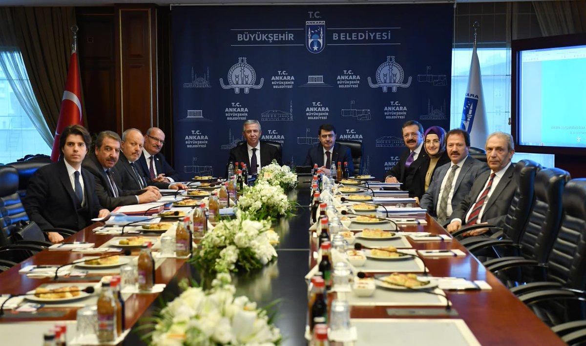 Ankara Uluslararası Fuarcılık ve Kongre Anonim Şirketi'nin Genel Kurul Toplantısı'nı Ankara Valimiz  @vasipsahin in katılımıyla belediyemizde gerçekleştirdik.  Ankaranın her alanda örnek ve öncü bir kent olması için iş birliği içerisinde çalışmayı sürdüreceğiz.