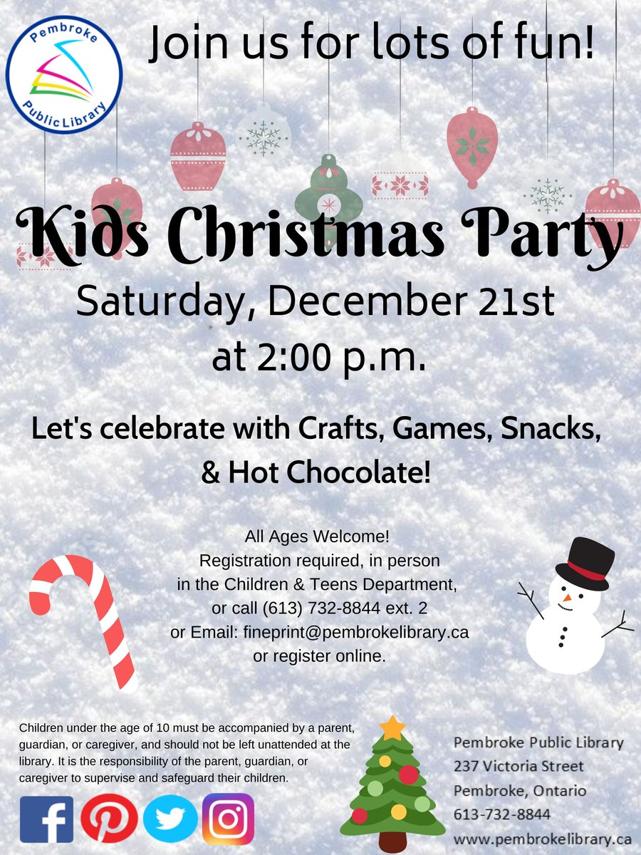 Kids Christmas Party! Let's celebrate with stories, crafts, games, snacks and hot chocolate! Merry Christmas and Happy Holidays!! #Christmas #party #ChristmasIsComing #Holidayparty #ChristmasMusic