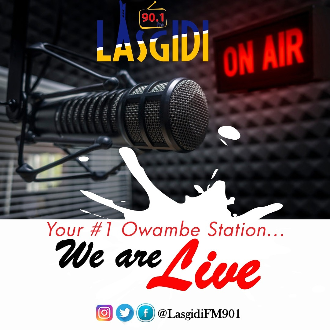 We are about to change the game @lasgidifm901 Your #1 Owambe Station  #We #Are #Live cc @Lolo1wazobia  #Music #Lagos #Party #Owambe #CardiBinLagos #Nepa #Wayward #Vibe #AGT