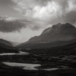 Image for the Tweet beginning: Torridon on a windy day