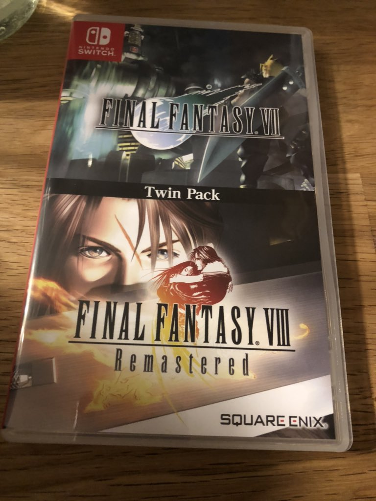 Finally Final Fantasy VII and VIII on a cartridge :D