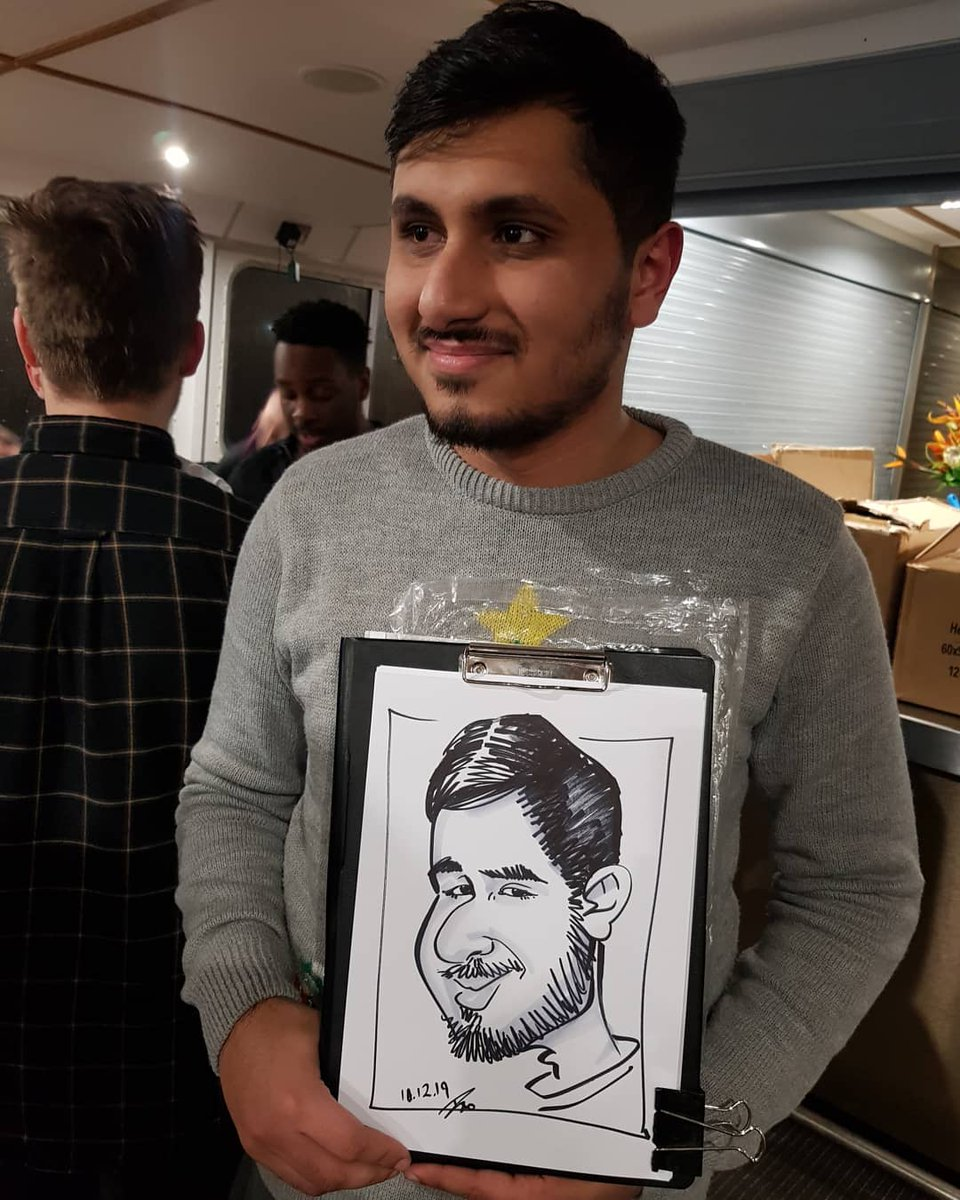 Christmas is here and the entertainment comes with it... #caricaturist #caricatures #caricatureartist #drawing #artist #art #sketch #drawingportraits #livecaricaturesketch #livedrawing #party #partyfun #partyentertainment #corporatecaricaturist #ivothecaricaturist #christmasparty