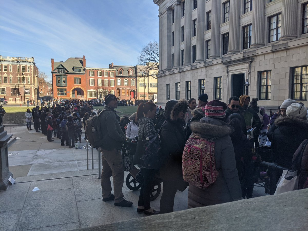 Hundreds of anti-vaxxers flood New Jersey capital to protest bill that would end religious exemptions