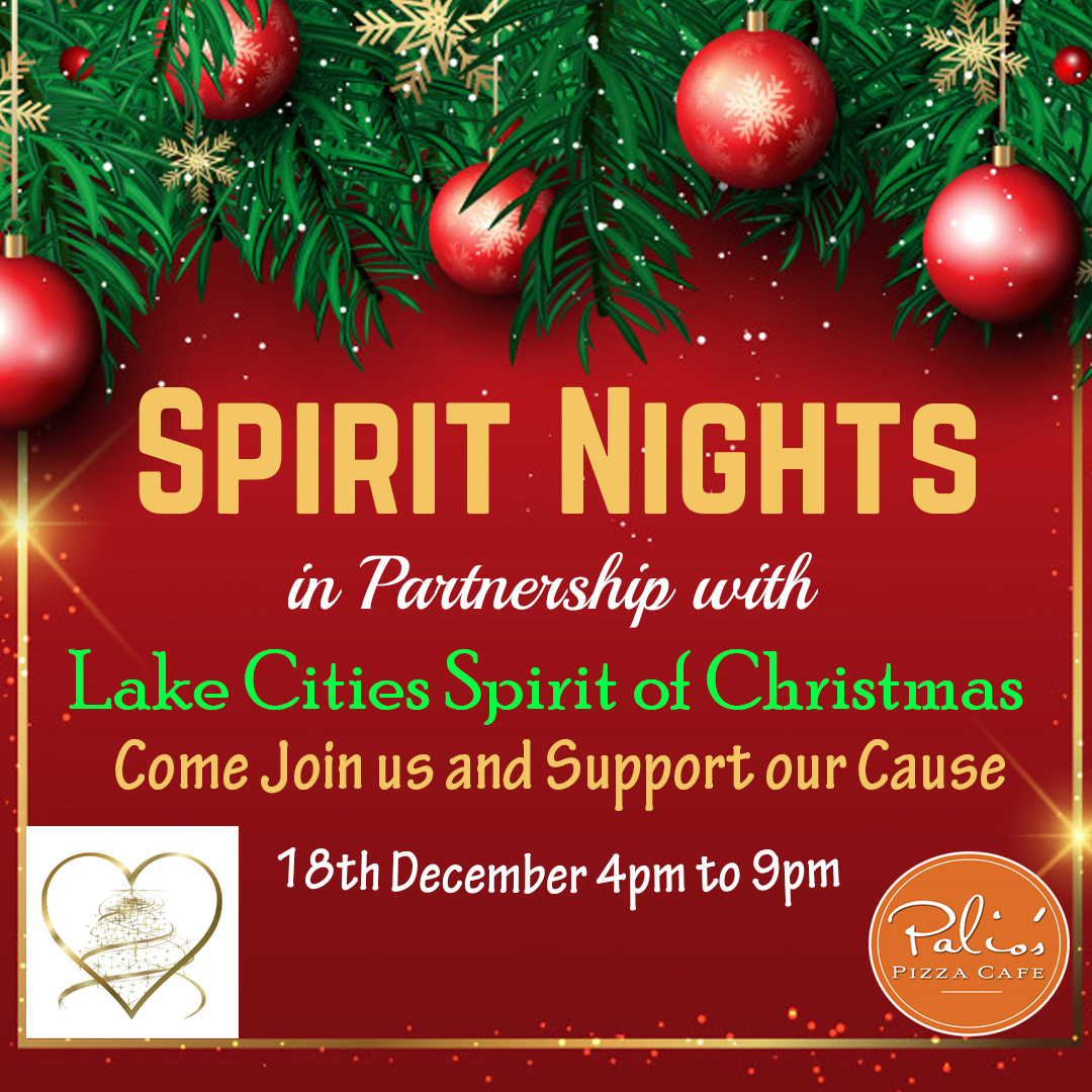 "Support us and the ""Lake Cities Spirit of Christmas"" on the 18th of December 2020, 5 pm- 9 pm. Don't forget to mention it at the counter.  #december #christmas #winter #xmas #holiday #christmastree #love #like #snow #food #foodporn #foodie #instafood #instagood"