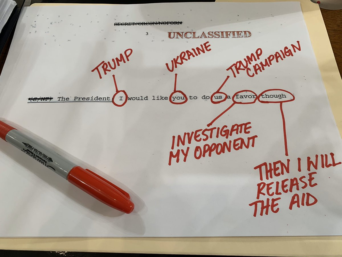 Let me break this down for you... #DefendOurDemocracy #ImpeachmentDebate