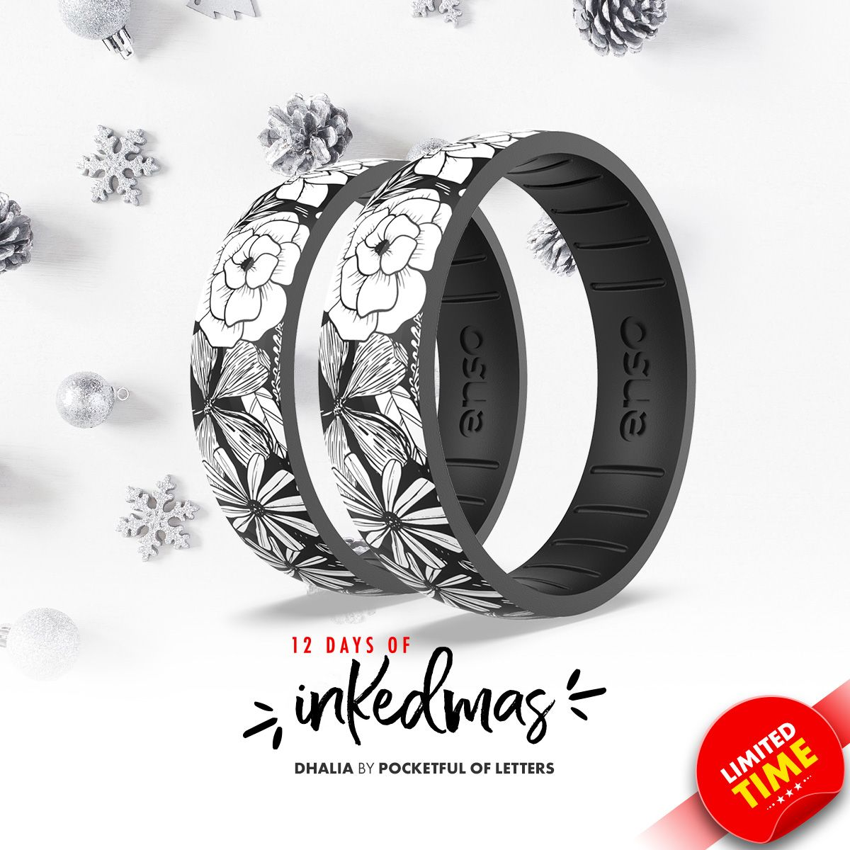 On the twelfth day of #INKEDmas Enso Rings gave to me ... a Dahlia ring by @pocketfulofletters.  https://t.co/2Ph90Frrf1 https://t.co/2sALPO2GXS
