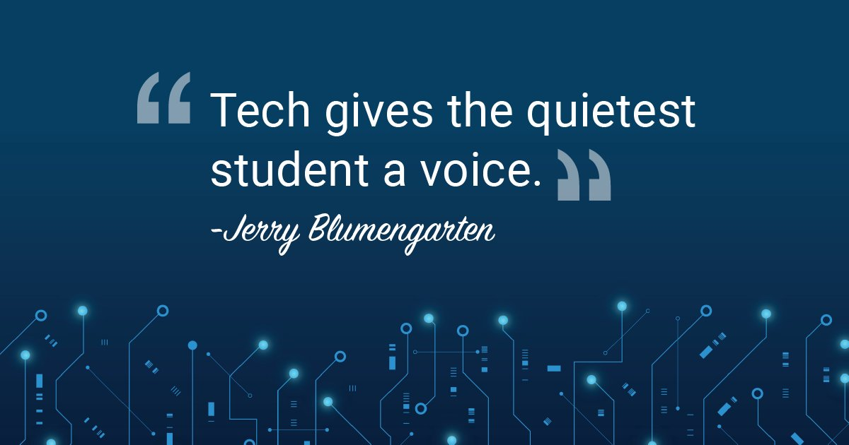 Tech is a microphone. #ThursdayThought