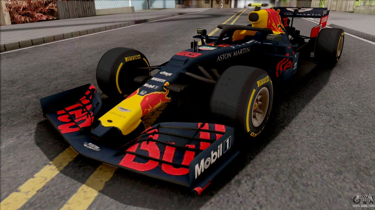 Red Bull RB15 F1 2019 for GTA San Andreas https://www.gtaall.com/gta-san-andreas/cars/121398-red-bull-rb15-f1-2019.html …