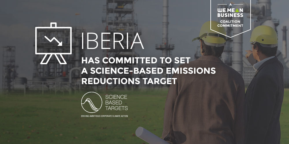 Welcome @Iberia! Thanks for joining 734 companies committed to set @sciencetargets: wemeanbusinesscoalition.org/commitment/ado… @CDP