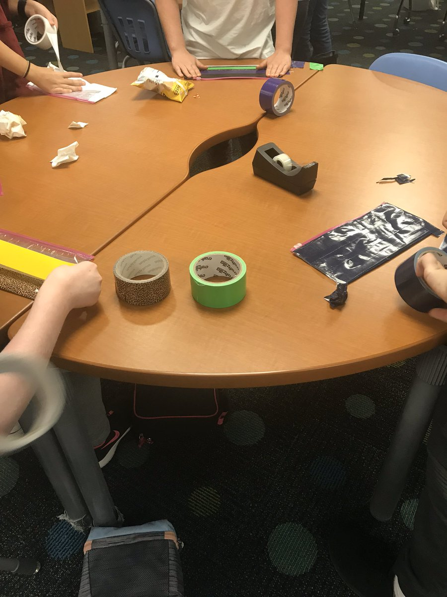 Loved making duct tape pencil pouches during lunches today! <a target='_blank' href='http://twitter.com/APSVirginia'>@APSVirginia</a> <a target='_blank' href='http://twitter.com/APSLibrarians'>@APSLibrarians</a> <a target='_blank' href='http://twitter.com/ArlingtonVALib'>@ArlingtonVALib</a> <a target='_blank' href='http://search.twitter.com/search?q=tjmsrocks'><a target='_blank' href='https://twitter.com/hashtag/tjmsrocks?src=hash'>#tjmsrocks</a></a> <a target='_blank' href='http://search.twitter.com/search?q=librarycraft'><a target='_blank' href='https://twitter.com/hashtag/librarycraft?src=hash'>#librarycraft</a></a> <a target='_blank' href='http://search.twitter.com/search?q=APSisawesome'><a target='_blank' href='https://twitter.com/hashtag/APSisawesome?src=hash'>#APSisawesome</a></a> <a target='_blank' href='https://t.co/DYdldTlnGj'>https://t.co/DYdldTlnGj</a>