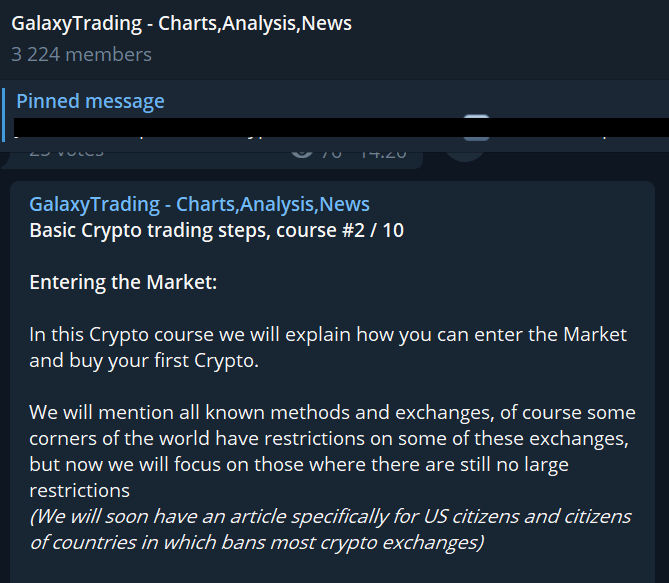 cryptocurrency trading steps