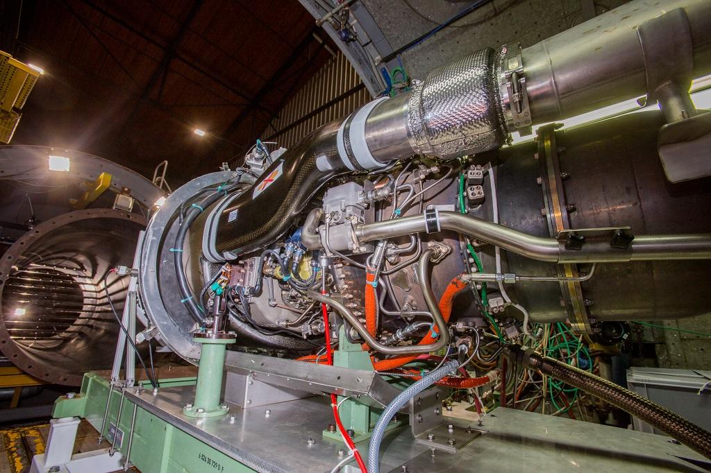Safran Aneto-1K turboshaft engine.