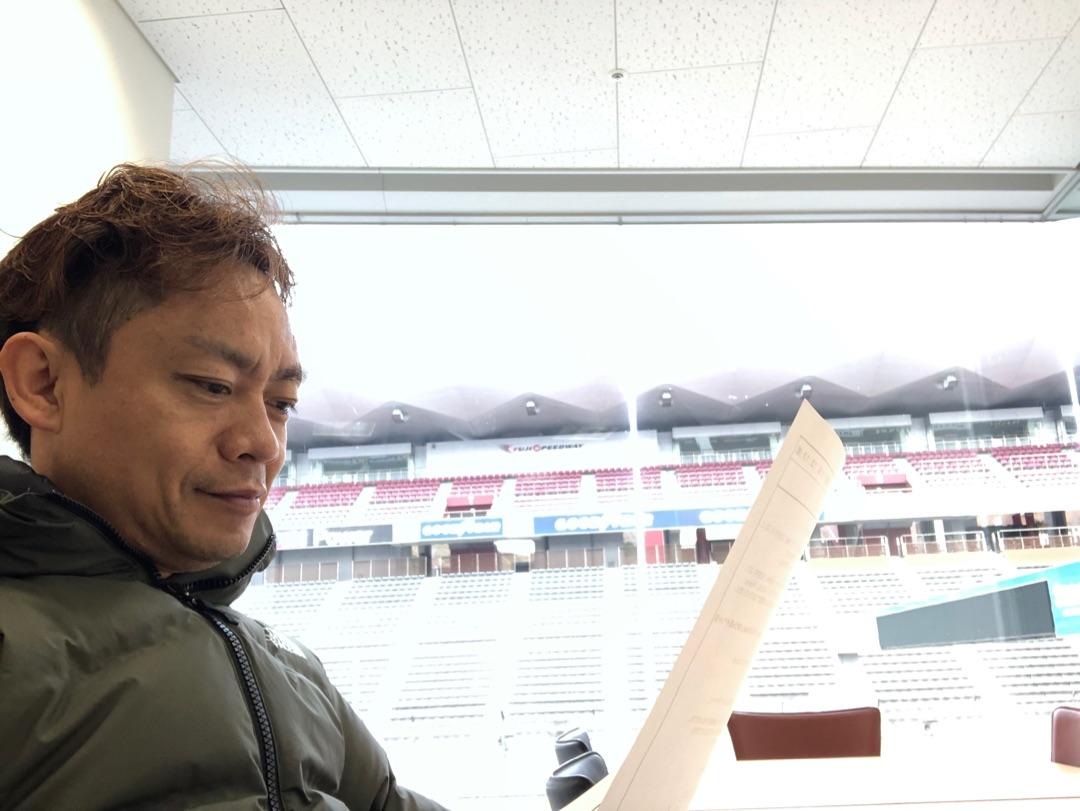放送準備 OKーー ー アメブロを更新しました#脇阪寿一#SBSラジオ