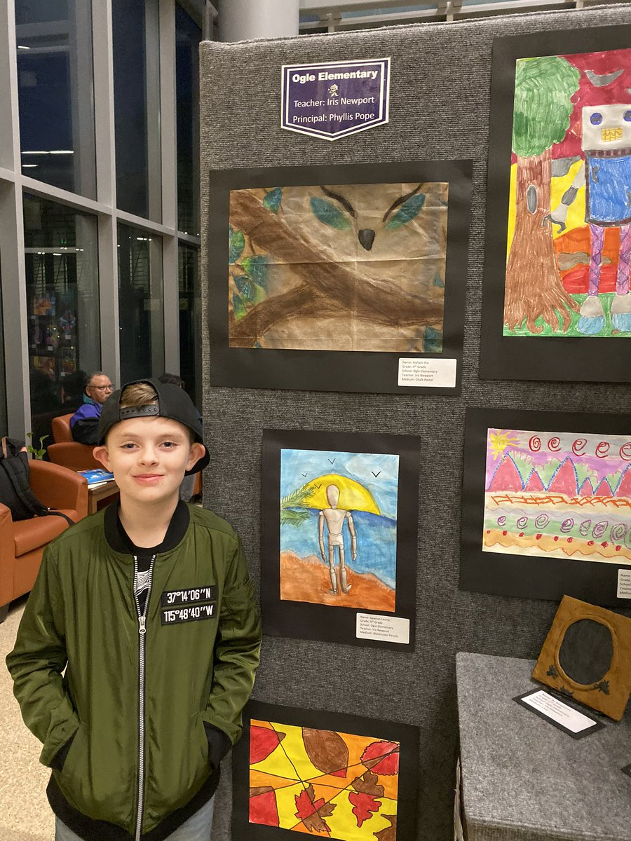 Frisco Vertical Art Show. Mrs. Newport does some amazing things with our kiddos in Art! #oglestory @IrisNewport<br>http://pic.twitter.com/YCtSSgYkzL