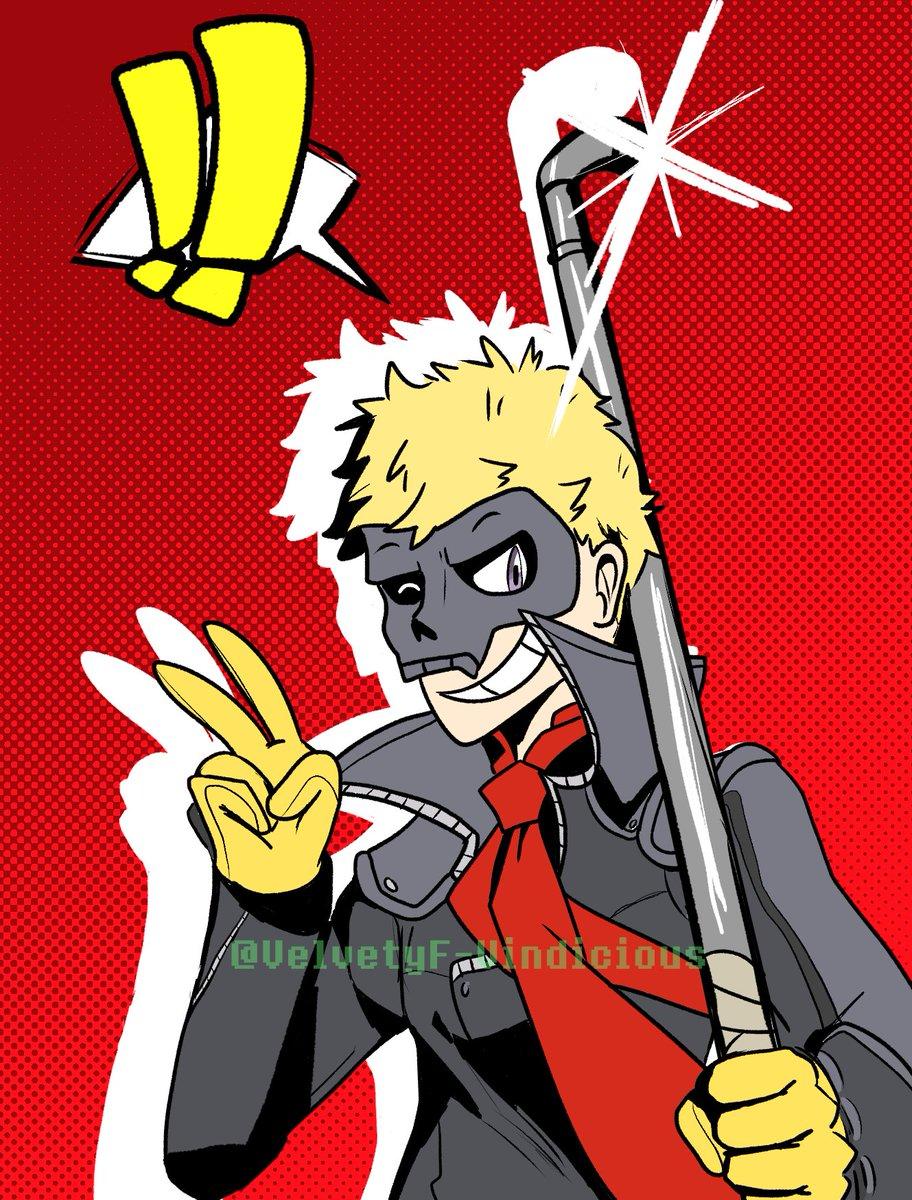 ITS THE BOY!!! THE SKULL BOY!! my favorite boy  #P5 #Persona5 <br>http://pic.twitter.com/YxMEvK8qxn