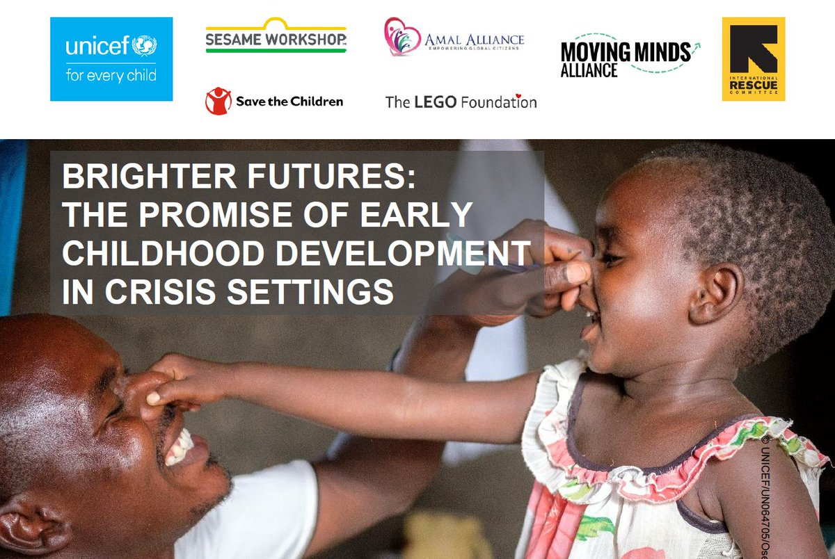 Attending the #RefugeeForum Geneva? Join @SesameWorkshop, @UNICEF, @RESCUEorg, @LEGOfoundation, @SavetheChildren, @amalalliance, & @MovingMindsECD for a side event on Monday, 12/16 at 10am to discuss the importance of ECD in crisis settings.