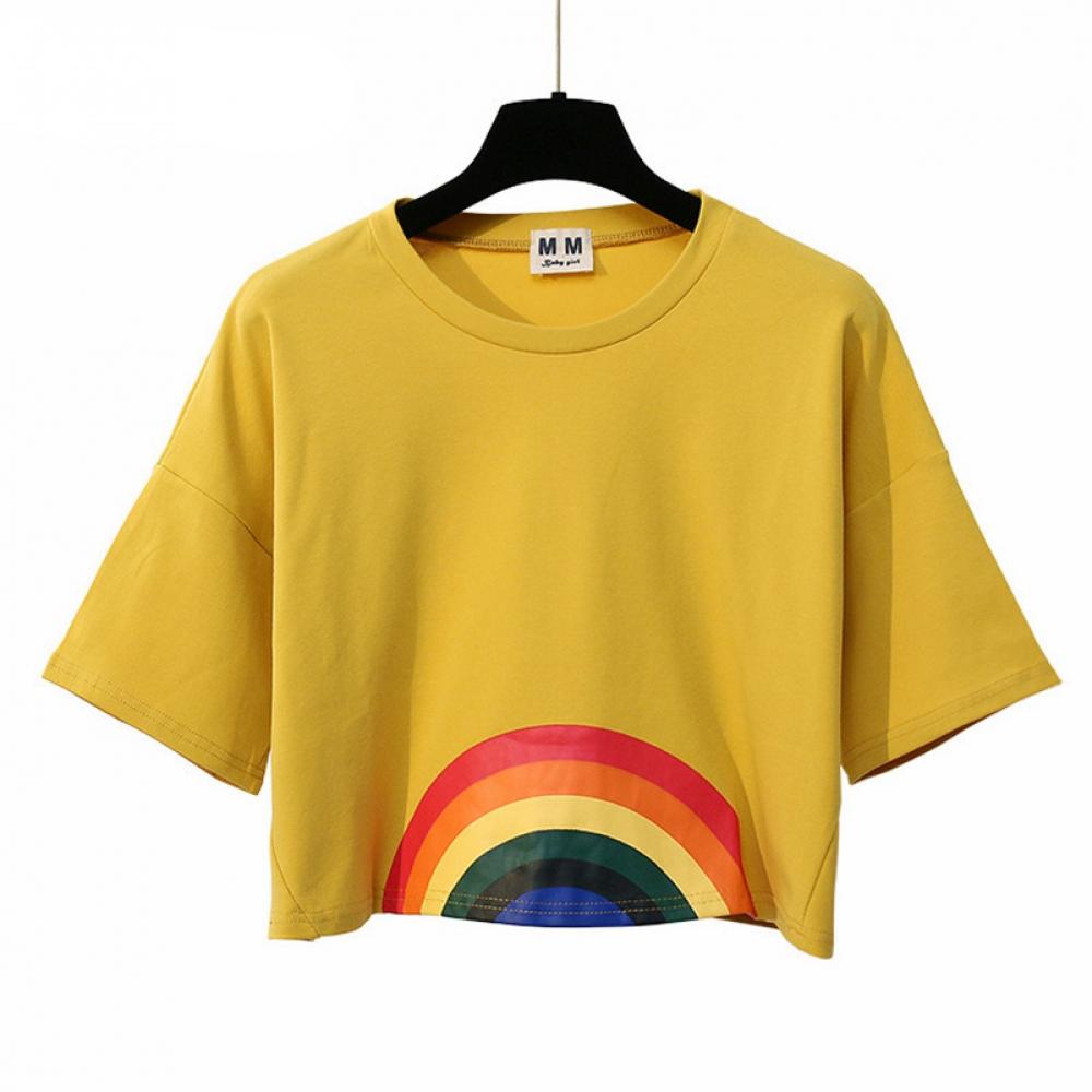 #instagood #beautiful Women's Rainbow Printed T-Shirt<br>http://pic.twitter.com/v7C7KY1cA0