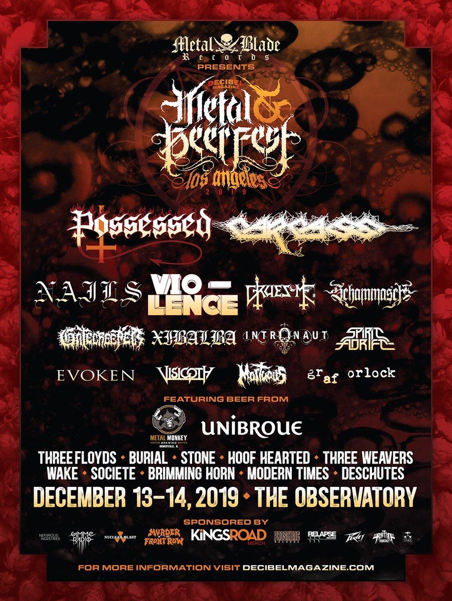 We play @dbmagazine Metal & Beer fest tomorrow!