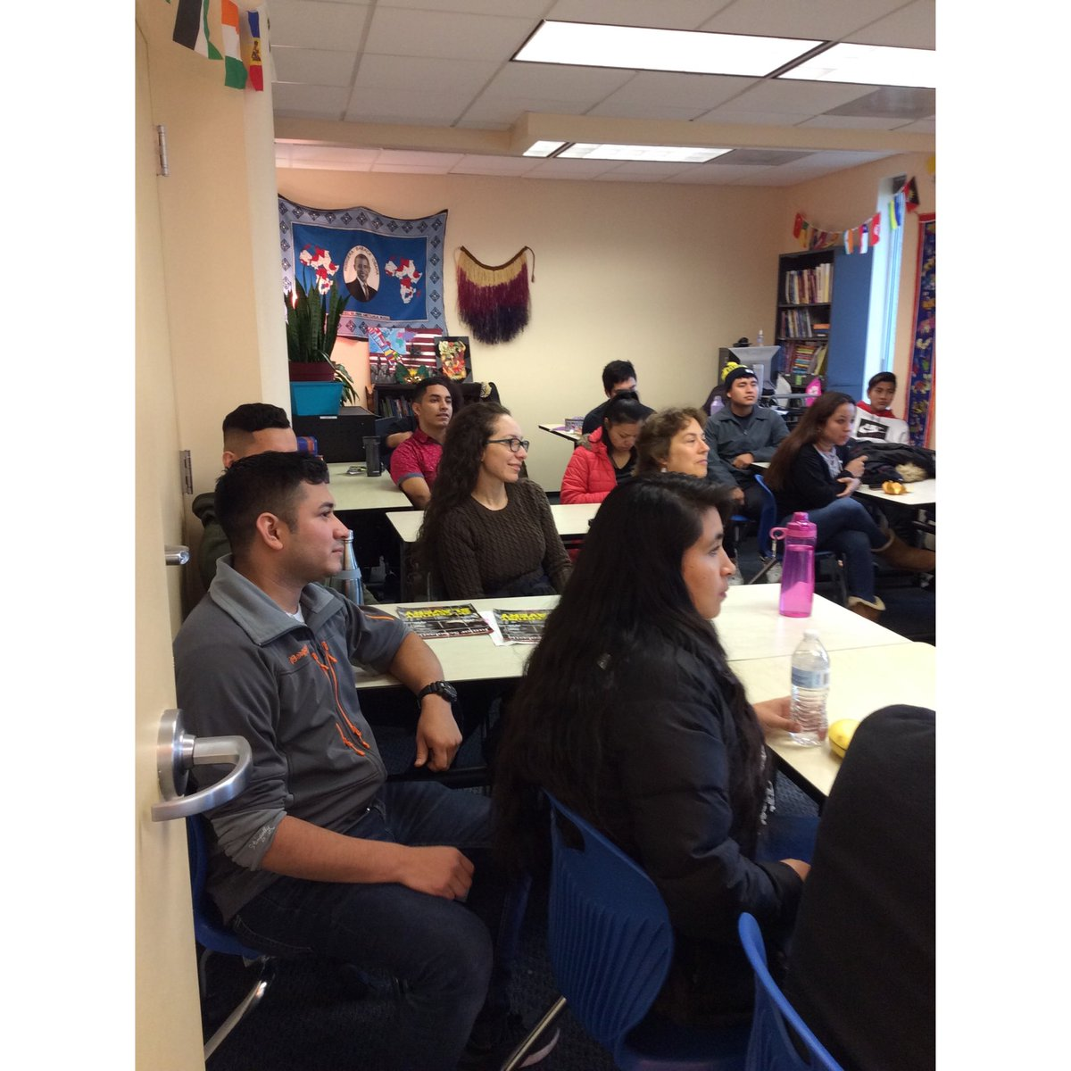 EL and ELA classes listen to powerful presentation on themes in the book Sold, Thanks to Senior Labor Analyst Sheela Ahluwalia!<a target='_blank' href='http://search.twitter.com/search?q=ACHSMavericks'><a target='_blank' href='https://twitter.com/hashtag/ACHSMavericks?src=hash'>#ACHSMavericks</a></a> <a target='_blank' href='https://t.co/Wt5LSou2ea'>https://t.co/Wt5LSou2ea</a>