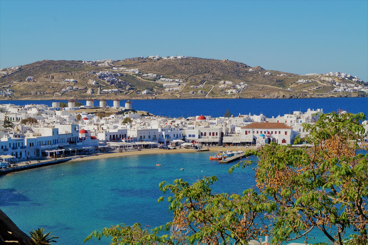 Mykonos City Sea Very beautiful landscape Greece <br>http://pic.twitter.com/JRUD39c9n8