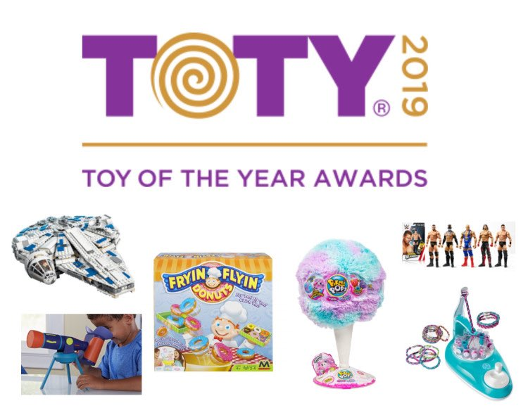 Will one of these toys lead to stampedes this year? #toyoftheyear #toty2019 #rabbitholespodcast #podernfamily #ladypodsquad #oddpodsquad #indiepodcast #christmas #christmas2019