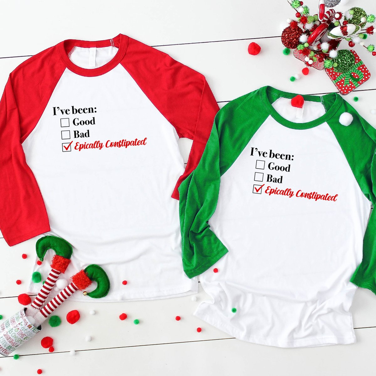 """'Tis the season for some sassy swag - use code """"HAILSANTA"""" for 25% off your favorite FOD merch: https://shop.funnyordie.com/collections/holidays…"""