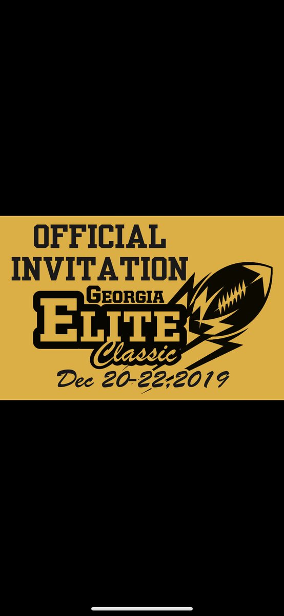 Blessed to be invited to the Georgia Elite Classic!! @TouchdownMOCO @coachbell