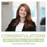 Image for the Tweet beginning: Jess Piscitelli is officially a