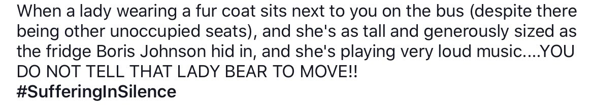 #BusStopWanker #Diaries Not me, but from one of my hilarious friends who's been logging bus escapades on Facebook for a long time now...😂