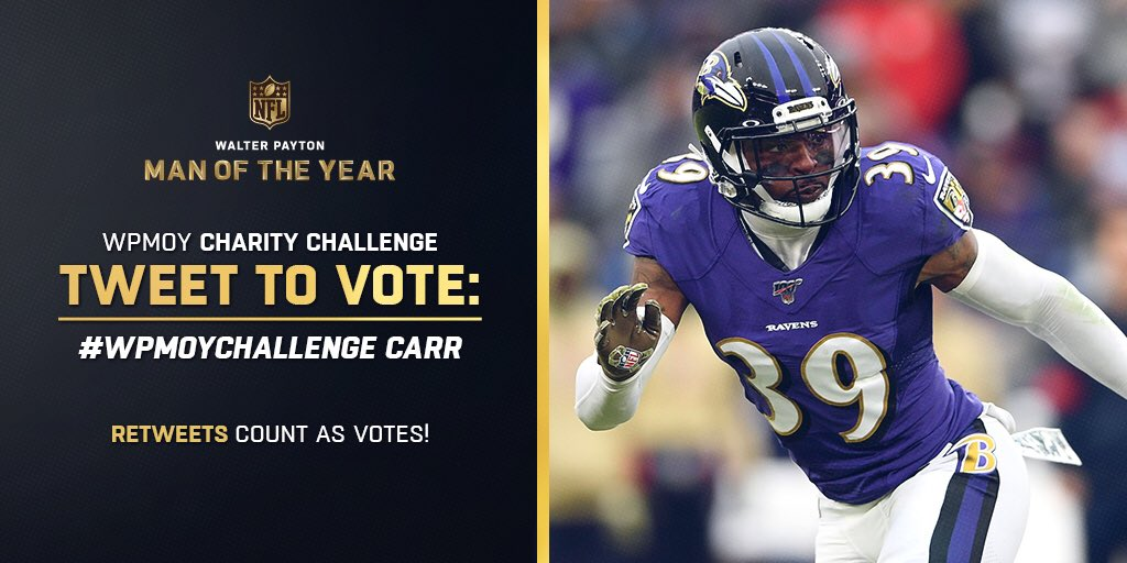 Replying to @BCarr39: Y'all heard the man! Lol Let's vote!! RT @markingram21: #WPMOYChallenge @BCarr39  🚨1 RETWEET= 1 VOTE🚨
