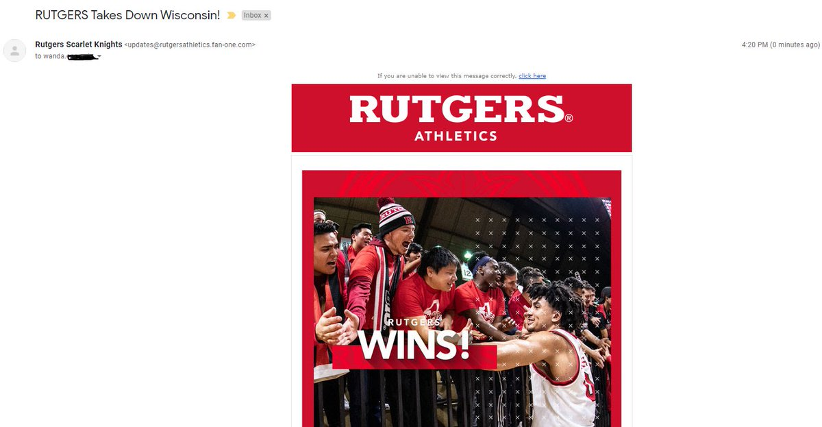 So timely, Rutgers. You know, 19 whole hours after the fact. https://t.co/ACiqoZHaei