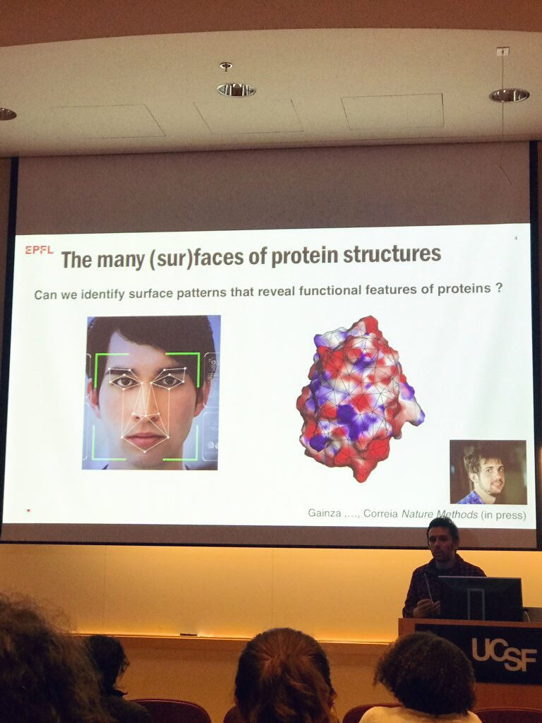 test Twitter Media - Super interesting talk by @befcorreia at @UCSF today on computational protein design! Incredible to see the pace of this field increasing rapidly both due to advances in #deeplearning & also advances in #immunotherapy & #celltherapy. The confluence of all my scientific interests! https://t.co/VkUCTTp3df