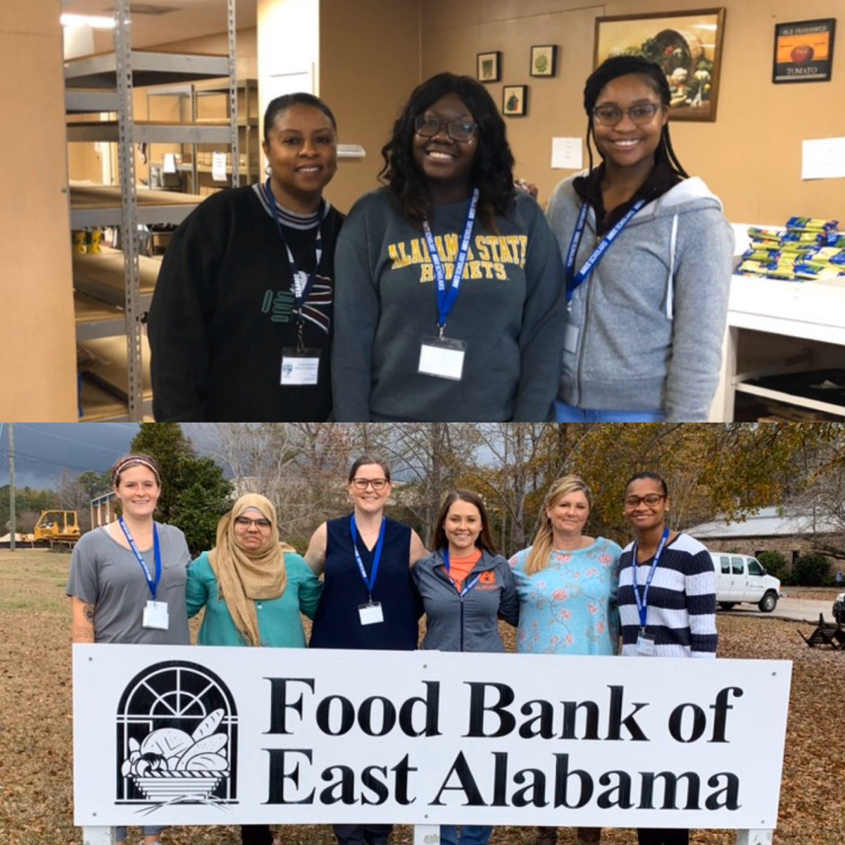 Great job helping out at our local food pantries #ahecscholars!! #givingback <br>http://pic.twitter.com/USFZJszwby