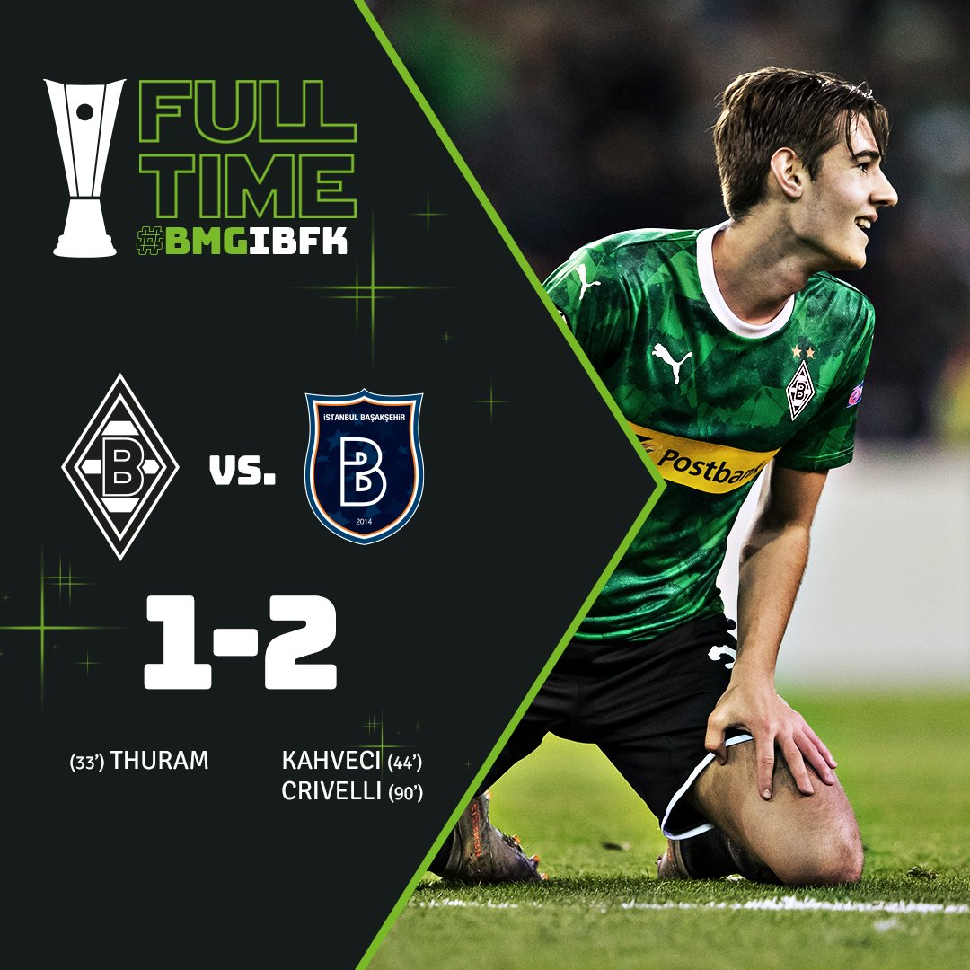 Gutted. Absolutely gutted    #DieFohlen  #UEL  #BMGIBFK 1-2
