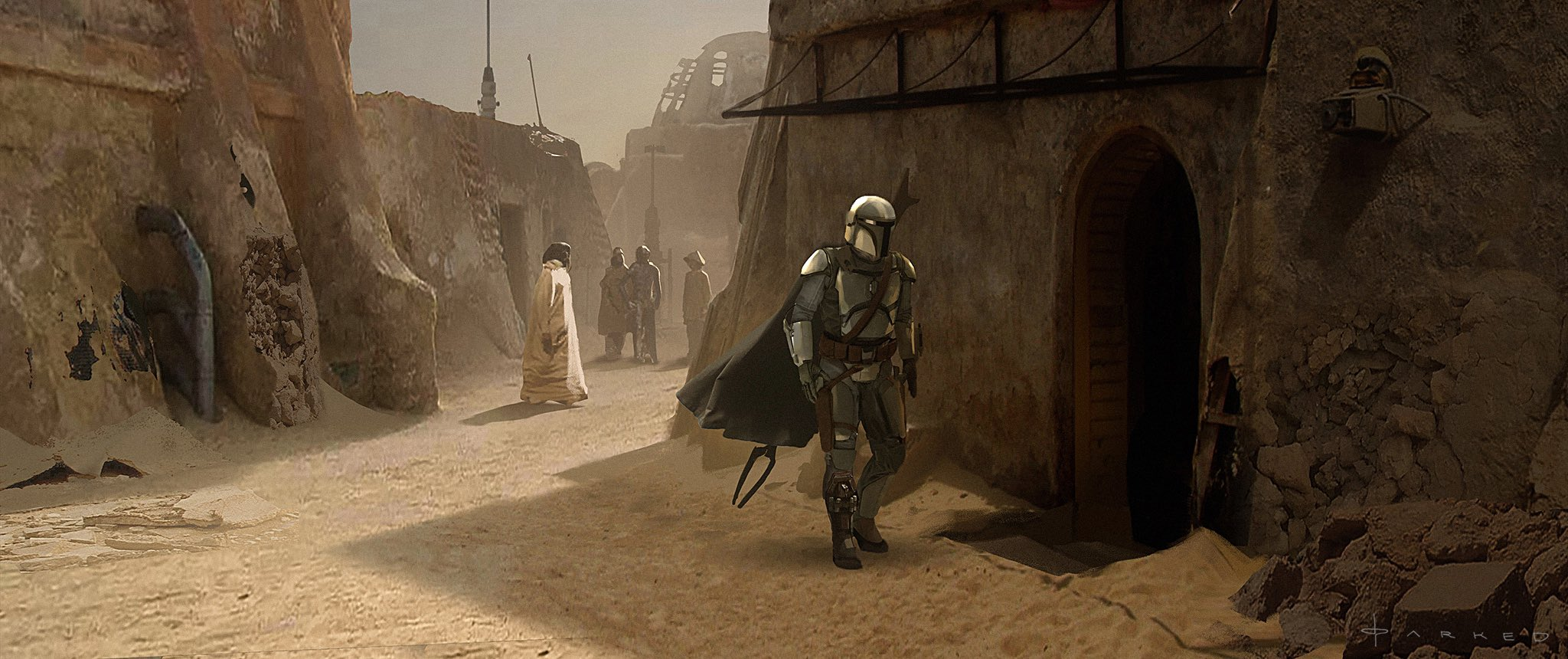 The Mandalorian On Twitter Official Concept Art From Chapter 5