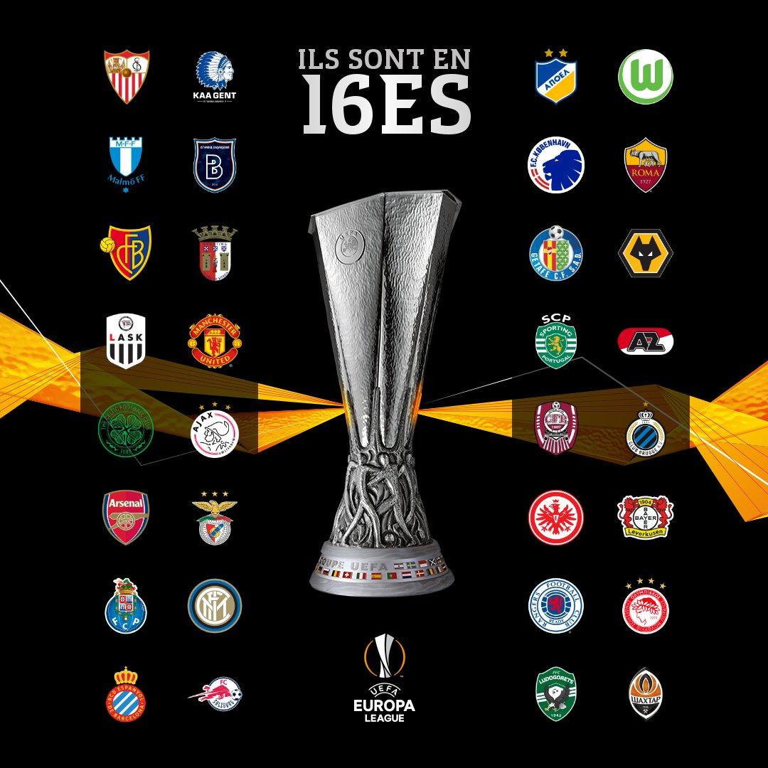 Ligue Europa 16es
